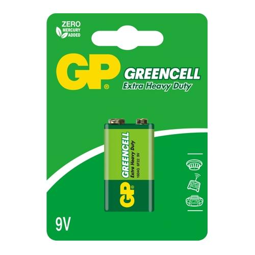 6F22 GP1604G-C1 Greencell 9V elem bliszteres