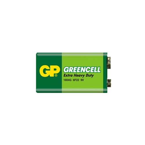 6F22 GP1604G-S1 Greencell  9V elem fóliás