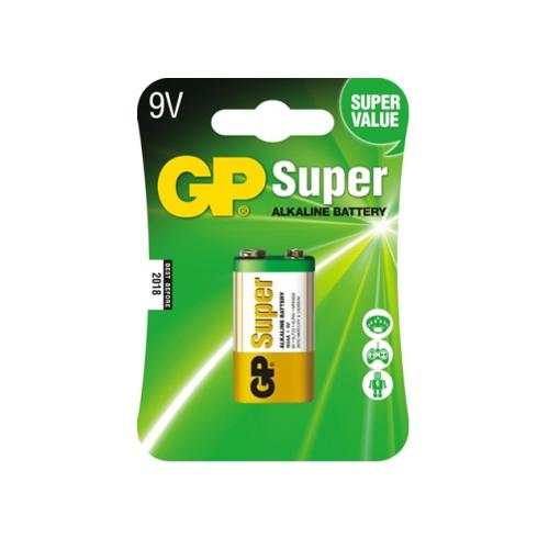 6LR61 GP1604A-C1 Super alkáli 9V elem bliszteres