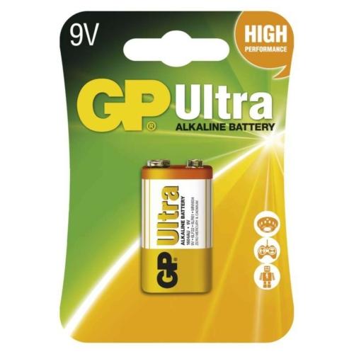 6LR61 GP1604AU-C1 Ultra alkáli 9V elem bliszteres