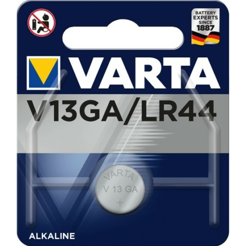 76A/AG13/LR44/L1154 Varta alkáli gombelem bliszteres