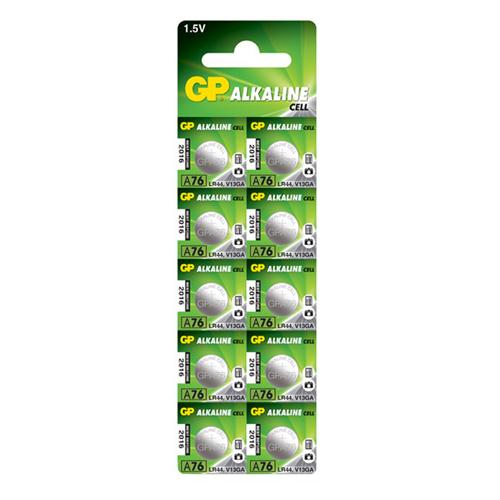 76A/AG13/LR44/L1154 GP alkáli gombelem bliszteres