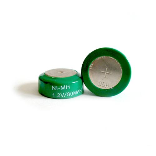80BVH Voltas gombcella 80mAh Ni-Mh 15,6*6,3mm