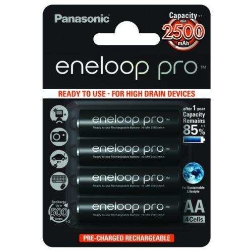 AA 2500mAh Panasonic Eneloop PRO ceruza akku Ni-Mh