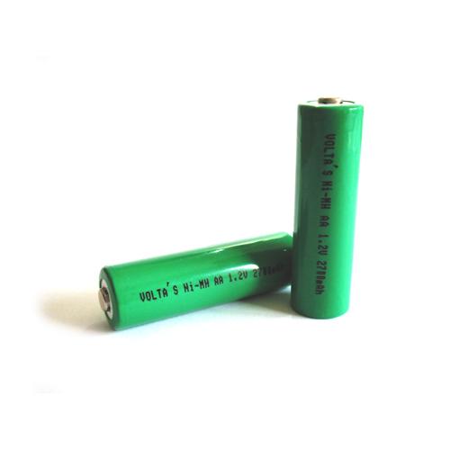 AA 250AAH Voltas akku 2500mAh Ni-Mh 14,5*50,3mm