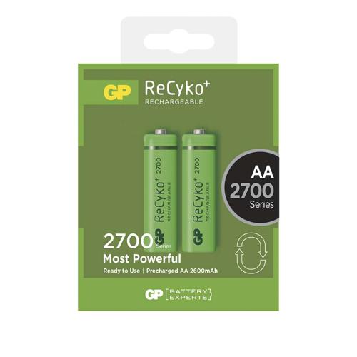 AA 2600mAh GP270AAHCB-C2 Recyko ceruza akku bliszteres