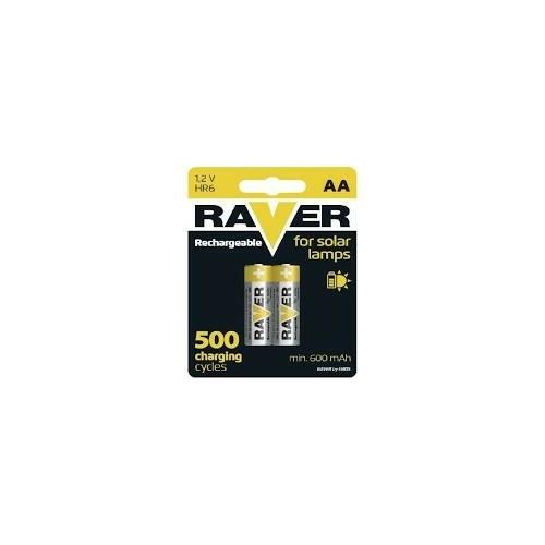 AA 600mAh Raver Solar 60AAHC-C2 akkumulátor
