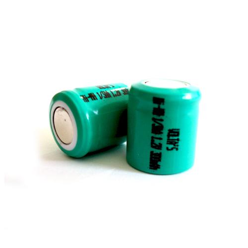 AA1/3 30AAHV Voltas akku 300mAh Ni-Mh 14.5*16.7mm