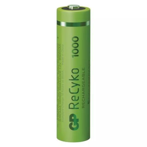 AAA 1000mAh GP100AAAHCB-PP4 Recyko mikro akku papírdobozos Ni-Mh