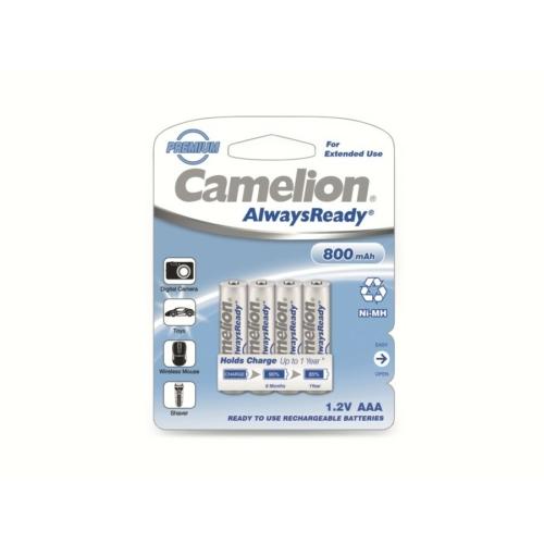 AAA 800mAh Camelion Always Ready mikro akkumulátor Ni-Mh C4