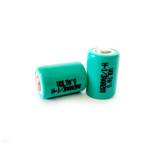AAA1/3 12AAAM Voltas akku 120mAh Ni-Mh 10,2*14,6mm