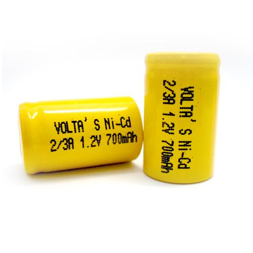 AF2/3 Voltas 70AFK akku 700mAh Ni-Cd 17*28,5mm