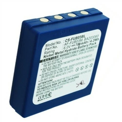 Akkumulátor Daru távírányítóhoz Ni-Mh 6V 700mAh HBC FUB 3A