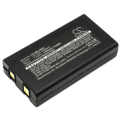 Akkumulátor DYMO árazóhoz DML300 7,4V 1300 mAh 9,62Wh Li-polymer