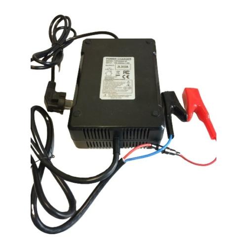 Akkumulátor töltő 8S 10A lítium-vasfoszfát LiFePO4 25,6V akkumulátorhoz