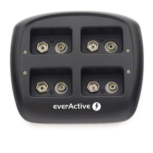 EverActive NC-109 9V-os Ni-Mh akkumulátor töltő