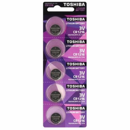 CR1216-C5 3V Toshiba lítium gombelem