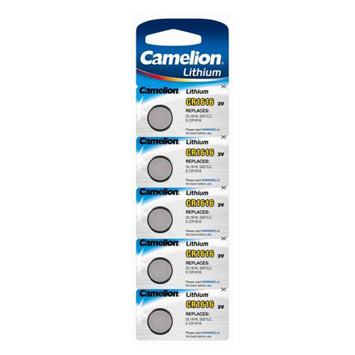 CR1616 3V Camelion lítium gombelem