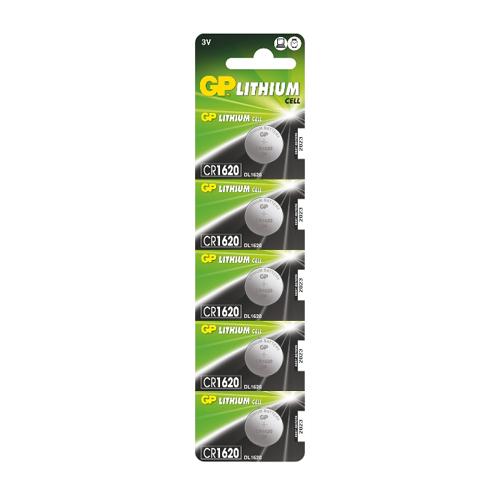 CR1620-C5 3V GP lítium gombelem