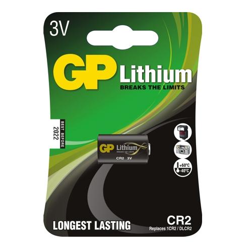 CR2-C1 GP lítium fotó elem 3V bliszteres 15.6*27mm