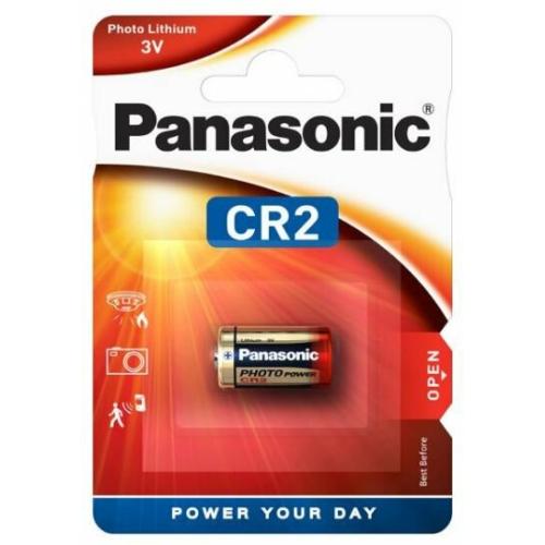 CR2-C1 Panasonic lítium fotó elem 3V bliszteres 15.6*27mm