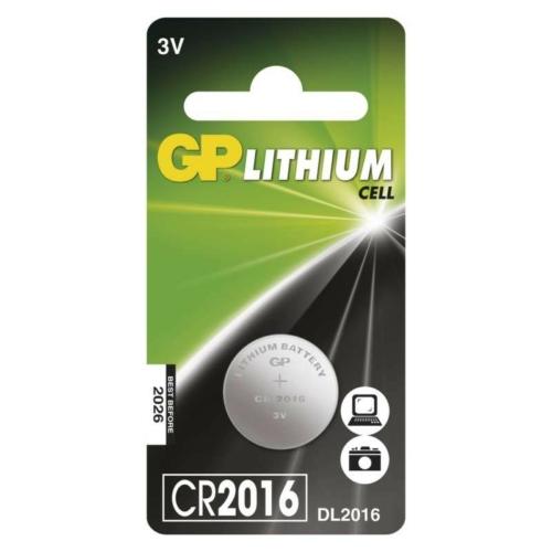 CR2016-C1 3V GP lítium gombelem