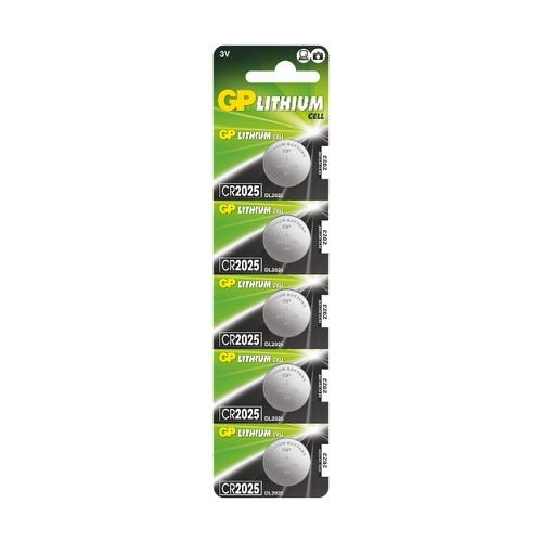 CR2025-C5 3V GP lítium gombelem