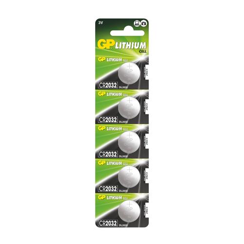 CR2032-C5 3V GP lítium gombelem