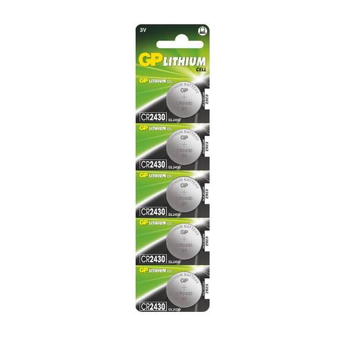CR2430-C5 3V GP lítium gombelem