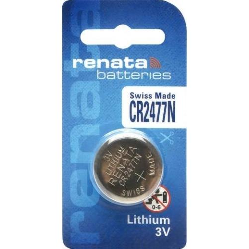 CR2477N Renata lítium peremes gombelem 3V 24*7,7 mm 950 mAh