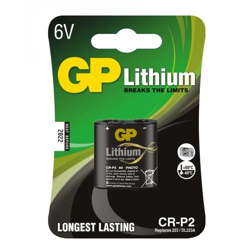 CRP2-C1 GP lítium fotó elem 6V bliszteres 35*19.5*36mm