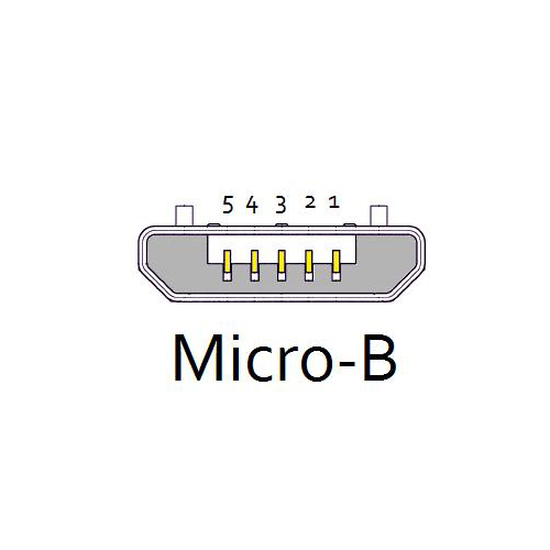 Csatlakozó micro-b usb