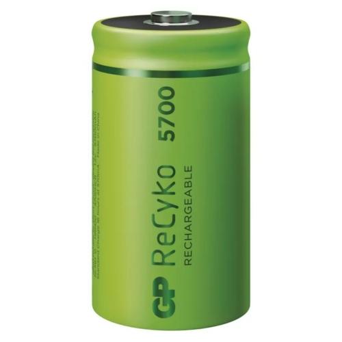 D 5700mAh GP570DHB-PP2 Recyko góliát akku papírdobozos Ni-Mh