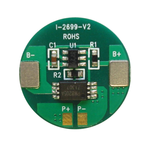 Elektronika 3,6V kerek