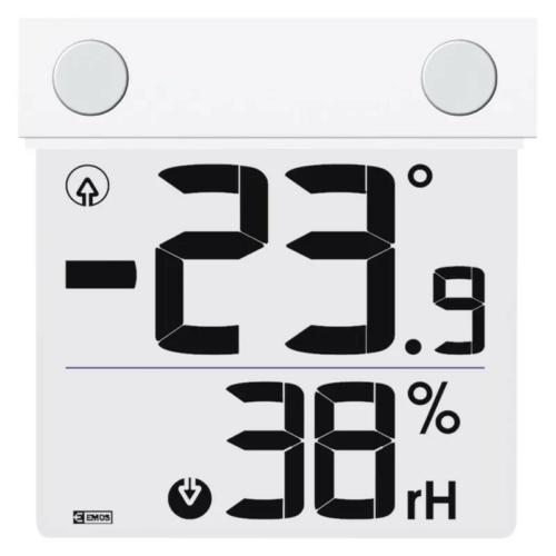 EMOS ablakhőmérő ezüst RST01278