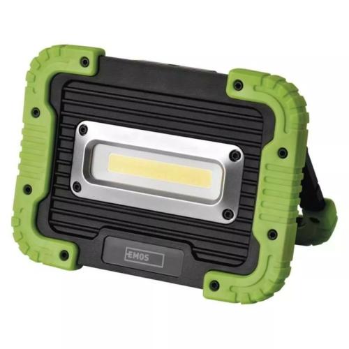 EMOS akkumulátoros LED lámpa 10W COB LED
