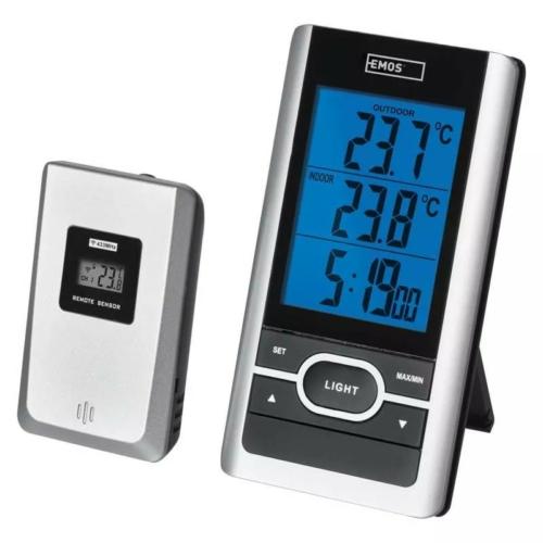 EMOS digitális hőmérő vezeték nélküli E0107