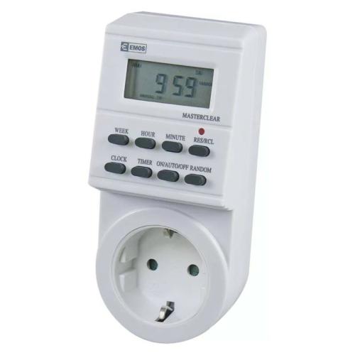 EMOS digitális időkapcsoló TS-ED1