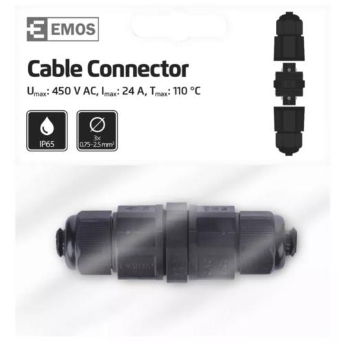 EMOS kábelcsatlakozó IP68