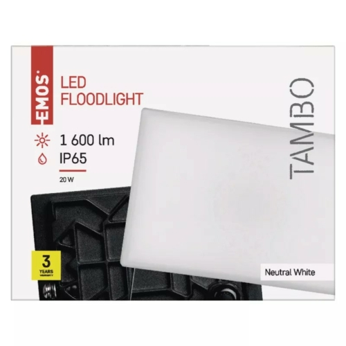 EMOS LED reflektor 20W TAMBO