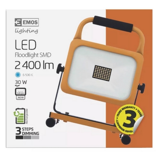 EMOS LED reflektor akkus SMD 30W