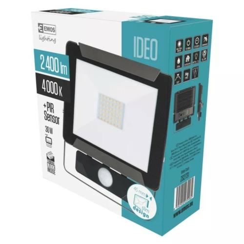 EMOS LED reflektor mozgásérzékelővel 30W IDEO