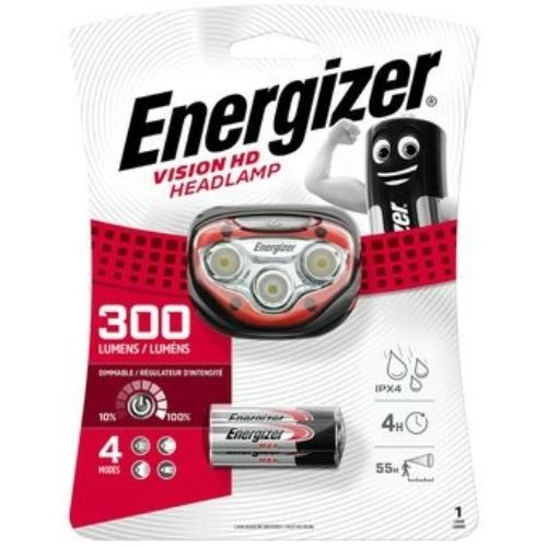 Energizer Vision HD ledes fejlámpa 3xAAA 300LM