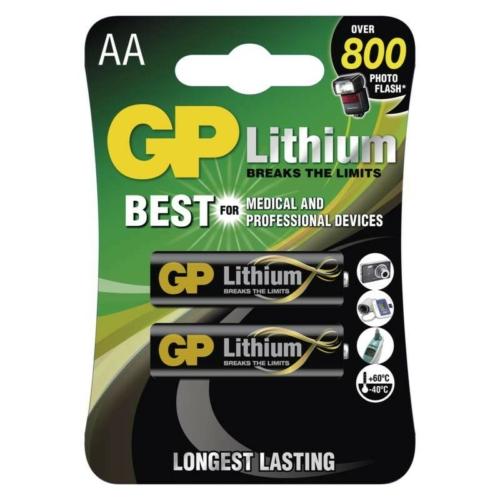 FR6 GP 15LF-C2 Lítium ceruza elem bliszteres