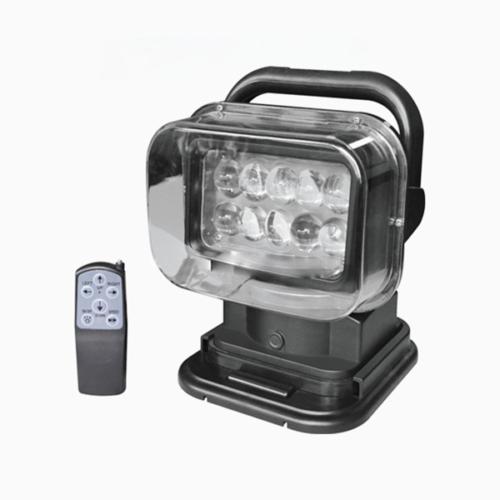 Gépjárműre szerelhető kereső reflektor 10db 5W cree leddel, távirányítóval