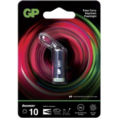 GP Discovery CK11 kulcstartós ledes lámpa + 4db LR41 elem