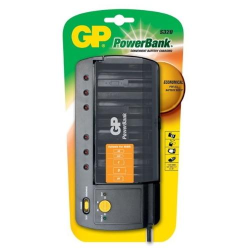 GP S320 Univerzális töltő