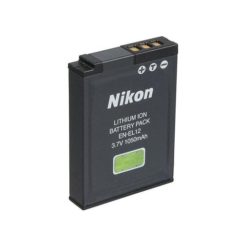 Kamera akku Li-ion Nikon EN-EL12 3,7V 700 mAh utángyártott