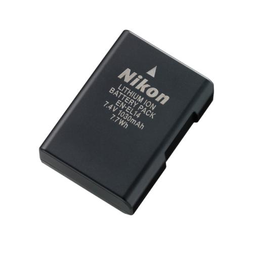 Kamera akku Li-ion Nikon EN-EL14 7,4V 1030 mAh