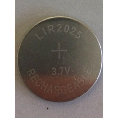 LIR2025 3,6V lítium gomb akkumulátor